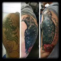 Crow by state-of-art-tattoo