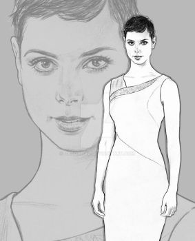 Morena Baccarin as Anna.. by jasonpal