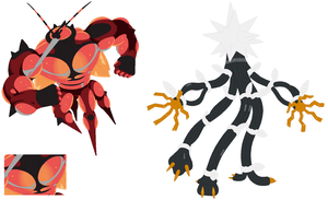 Buzzwole and Xurkitree Base