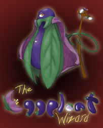 Eggplant Wizard: Redesigned by batwing321