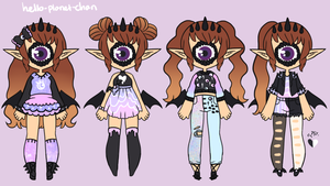 Outfit set - Ami by hello-planet-chan