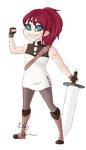 Pixel Lara by emilythesmelly