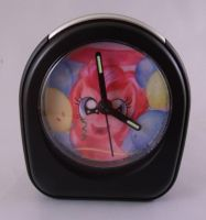 Pinkie Pie clock! by MermaidSoupButtons