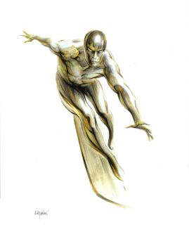 WHERE SOARS THE SILVER SURFER! by SunHelmet