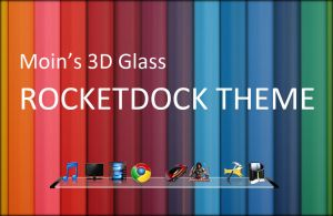 Moin's 3D Glass Rocketdock by smoinuddin1110