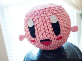 3d Origami Kirby by gracy2227