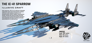 IC-41 Sparrow Illusive Craft by Duskie-06