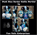 Punk Blue Border Collie Partial (for sale) by BayouBaby