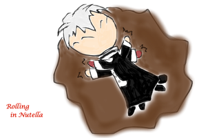 Allen + Nutella by origami10