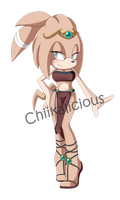 Aisla The Echidna Amazon Warrior by DragonWarrior25