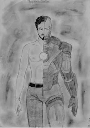The truth is... I am Iron Man by LaChicaRara