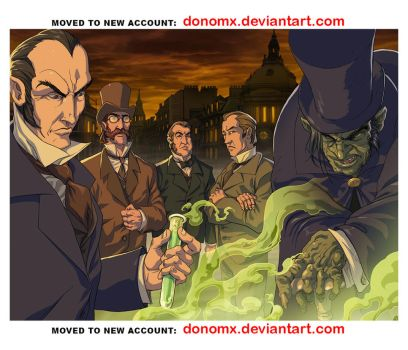 Dr. Jekyll and Hyde Characters by dannlord