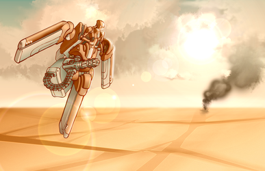 Gun Angel: Sky Guardian by WithintheMechanism