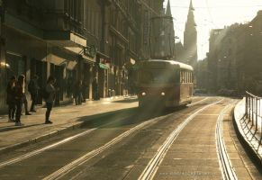 A Weekend Tram by ondrejZapletal