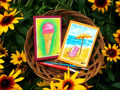 Summer Card Project 2016 by MahiyanaCarudla