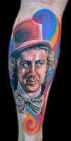 Willy Wonka by tat2istcecil