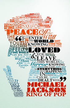 Michael Jackson Typography by jsandmeyer
