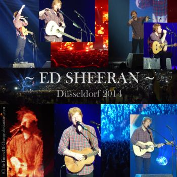 Ed Sheeran 2014 by Siocain
