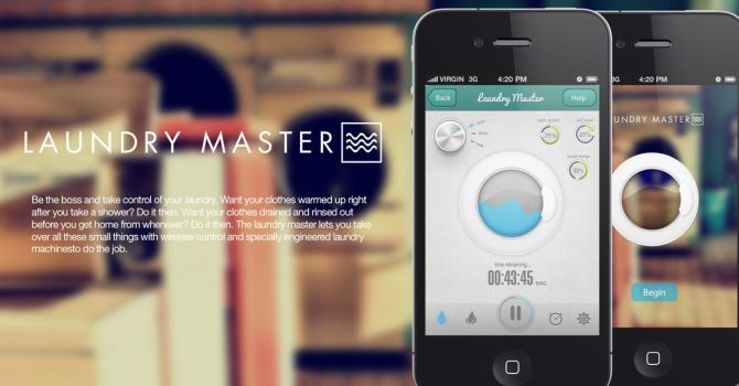 Laundry Master Iphone App by R3D-X7