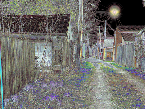 Small Town Alley - The Final Eclipse by Intended-Effects