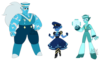 Navy Gem Adopts - Set 3 [OPEN] by FunkyFunKing