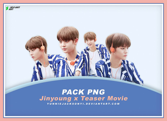 [PNG Pack #14] Wanna One Jinyoung x Teaser Movie by yunniejacksonyi