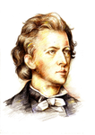 Frederic Chopin by daimoc-art