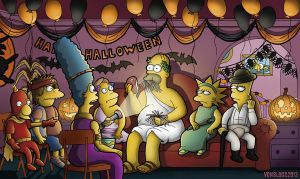 Treehouse Of Horror III by vonblood