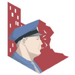 This is the Police Metro Icon by R3DJOK3R1