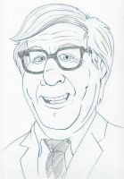 Ray Bradbury by AtlantaJones