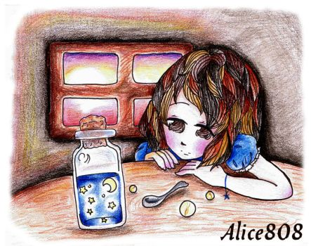 Dreaming in a Midnight Bottle by Alice808