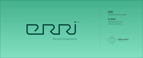 ERRI logotype by porcelainkid