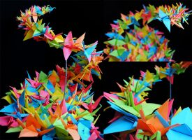 The Thousand Paper Cranes by Snuffles379