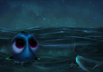 Finding Dory - Lost in the Sea by ichimoral