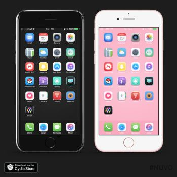 NUVO iOS 10 Theme by kon