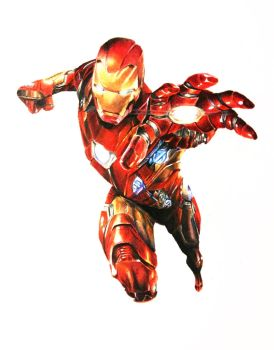 Iron Man Mark 46 by MattWArt