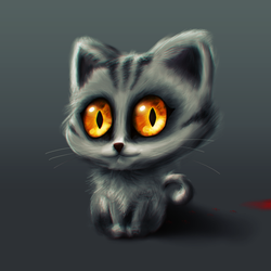 Kitty Cat by JaNightmare