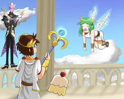 Kid Icarus- Role Swap by 1Abiodun