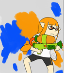Commission - Inkling by Zanreo