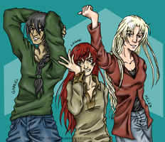 G+S: GQ It Up Colored by elfgrove