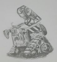 Wall-e (first attempt) by hosuho