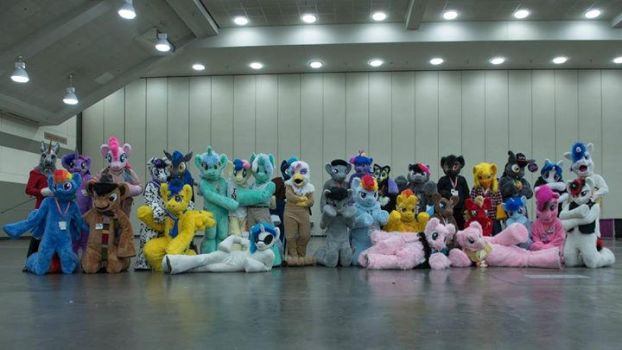 Bronycon 2015 Fursuit Lineup by krysto2012