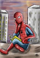 Spiderman - Relax by Giorgia99