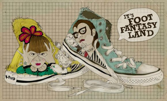 foot fantasy by montendo