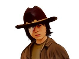 Carl Grimes Walking Dead by Hey2theZeus