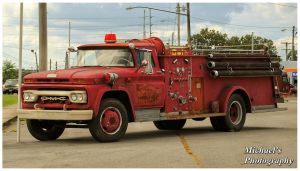 An Old GMC Firetruck by TheMan268