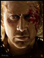 Nic Cage - DRIVE ANGRY by Sheridan-J