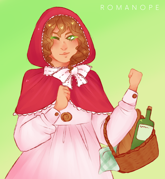 APH: red riding beauty by romanope