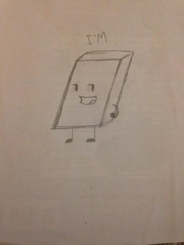 BFDI Eraser Animation (on Paper) by ObjectNotyap1