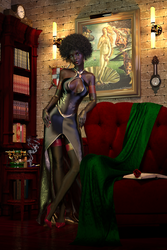 One more times,  Afro-Dita by Gluck4012
